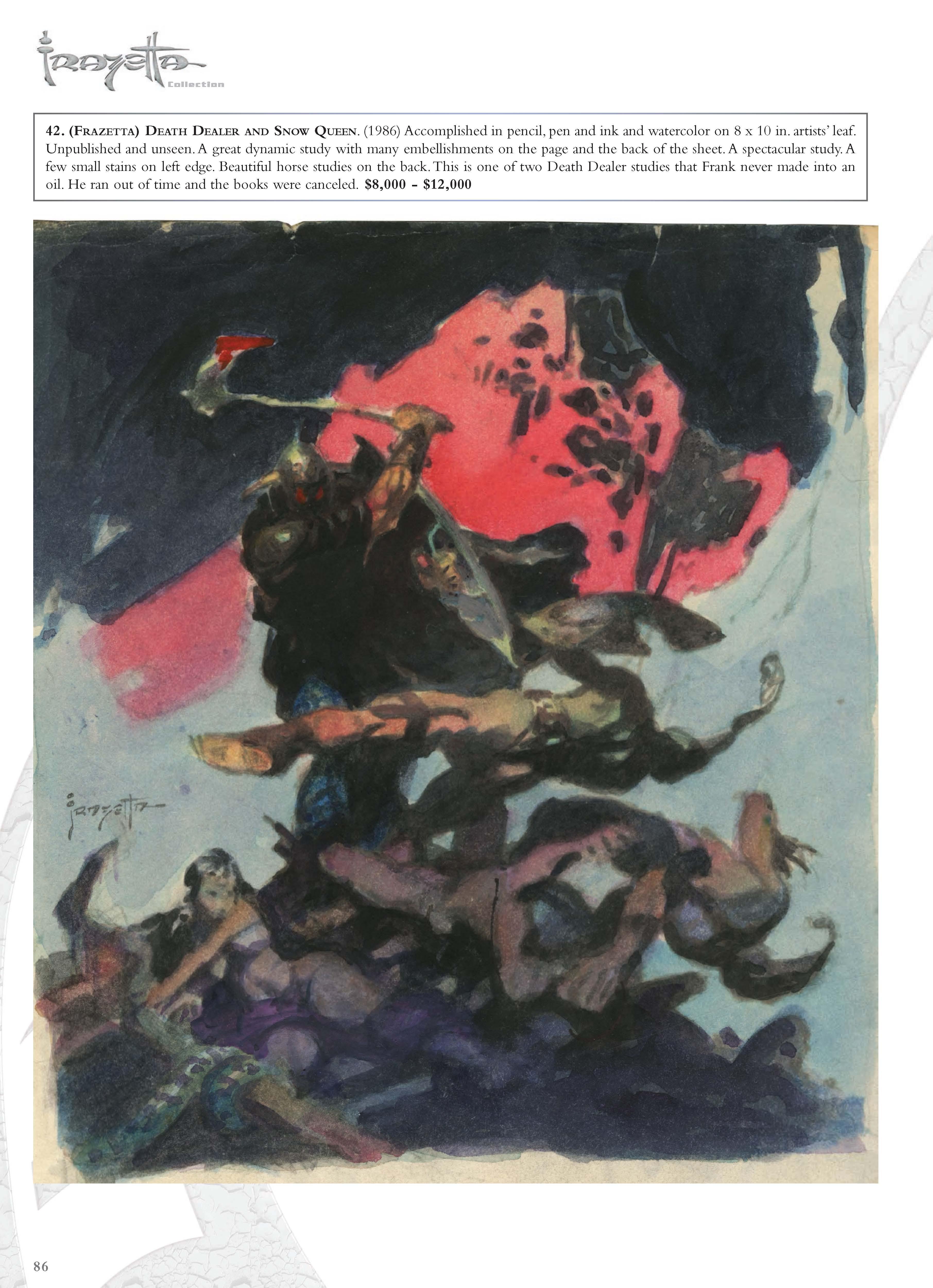 Illustration Mid To Late 20th Century Illustrators Doc Dave Winiewicz Frazetta Collection