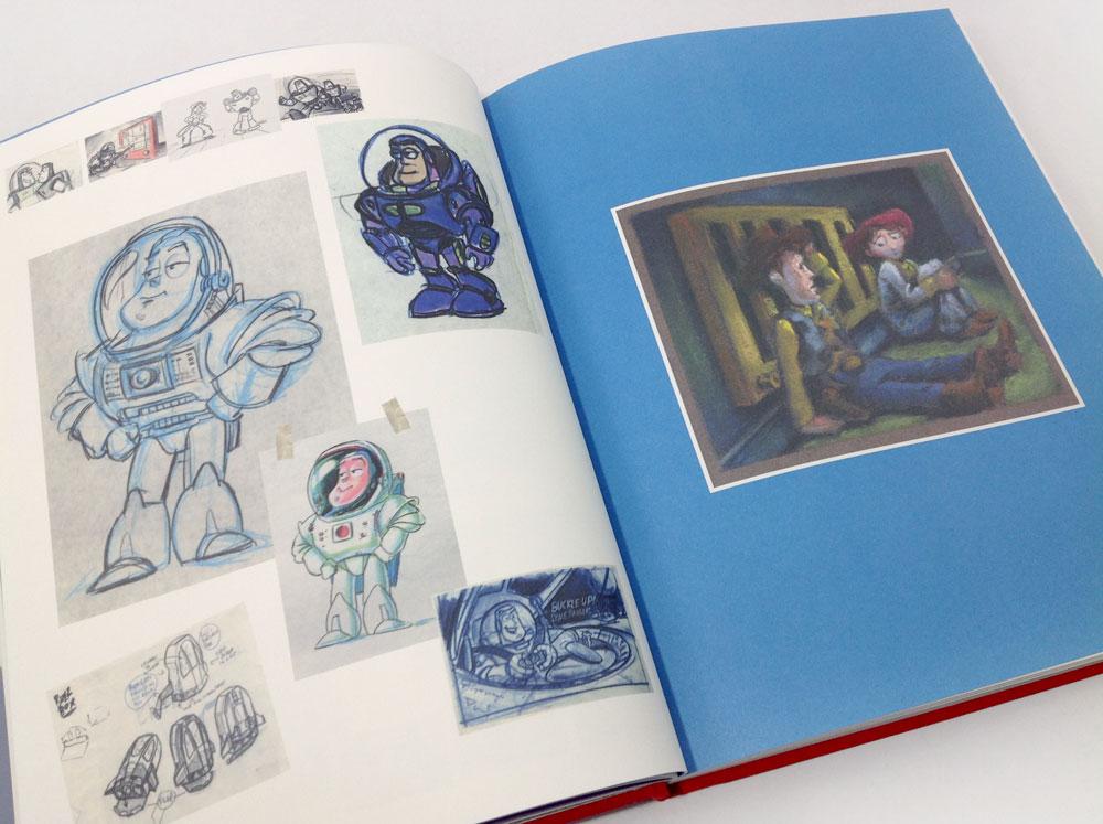 Animation Amp Film Disney Pixars Toy Story The Sketchbook Series