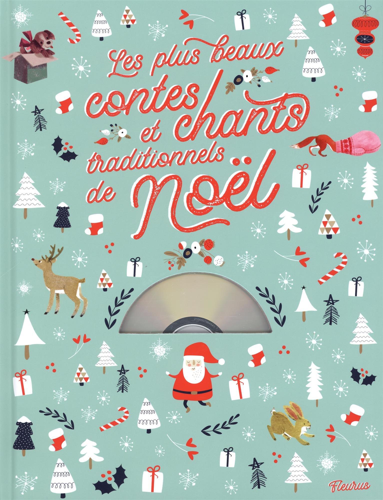 Les Plus Beaux Chants De Noel : beaux, chants, Children's, Books, Beaux, Contes, Chants, Traditionnels, Noël