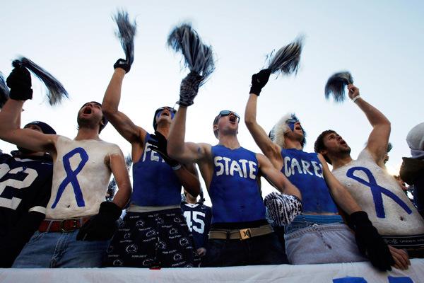 Blue Out Fans