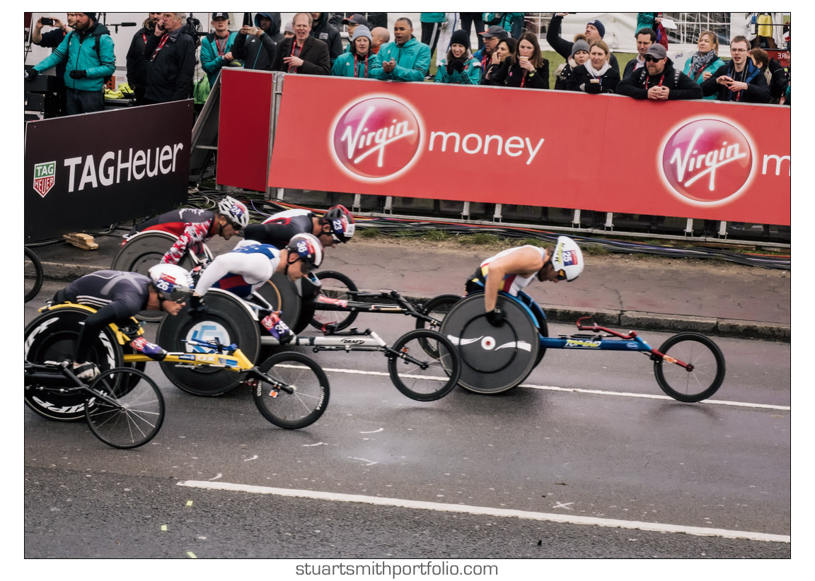 Wheelchair Race Virgin Money London Marathon 2016