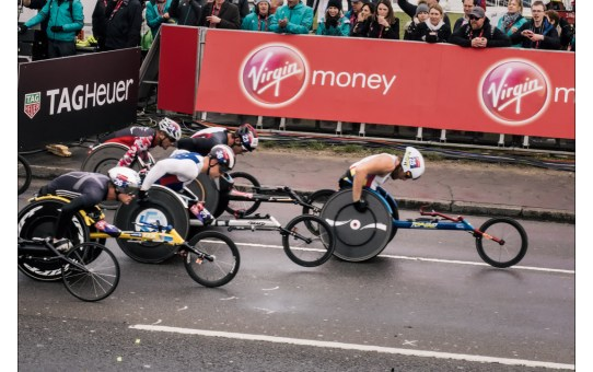 Wheelchair Race Virgin Money London Marathon 2016