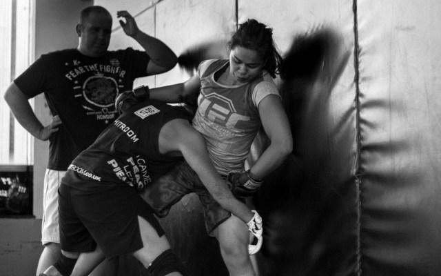 Rosi Sexton UFC Fighter by Stuart Smith