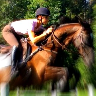 Stübben rider Ariel Grald