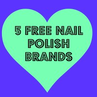 List of 5 free nail polish brands