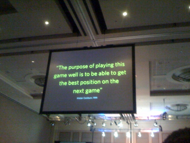 The Purpose of Playing the Game
