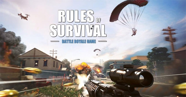 Rules-of-Survival is a survival mobile game like pubg