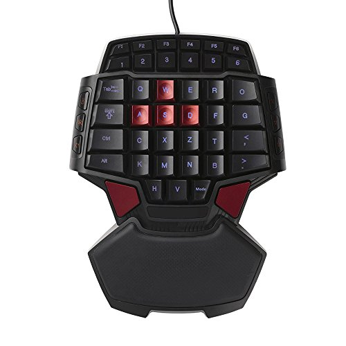 Mobile gaming keyboard for playing pubg
