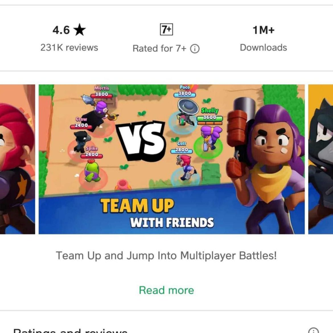 Brawl Stars Hit 1 Million Downloads On Play Store