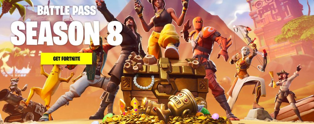FORTNITE SEASON 8 BATTLE PASS IS HERE! CHECK OUT ALL UPDATES