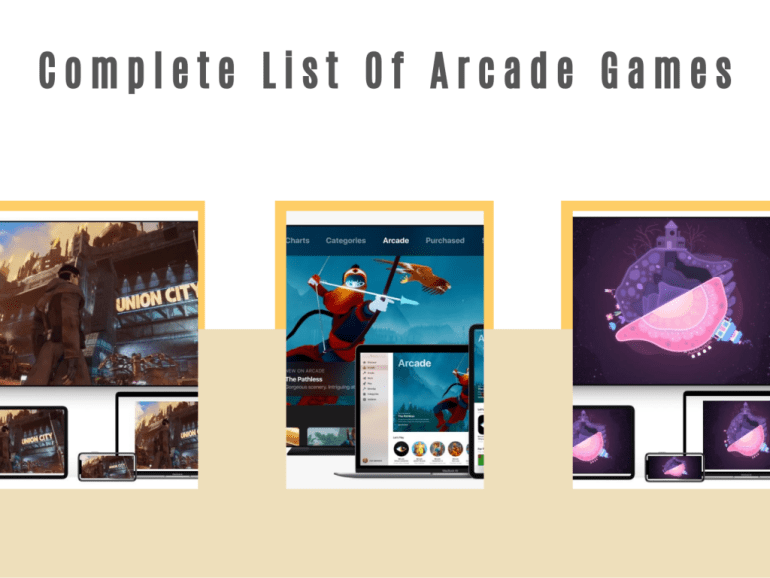 List Of Apple Arcade Games