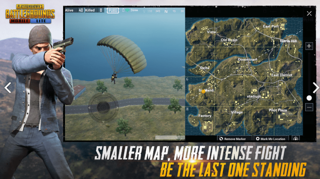 smaller map more intense fight be the lat one standing