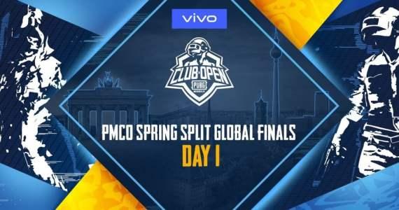 PMCO Global Finals Day 1| Vivo | PUBG Mobile Club Open| Live