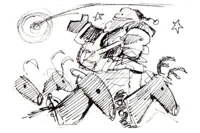 Pink Pie Concept Sketch