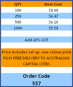 Pencil Case Price Table