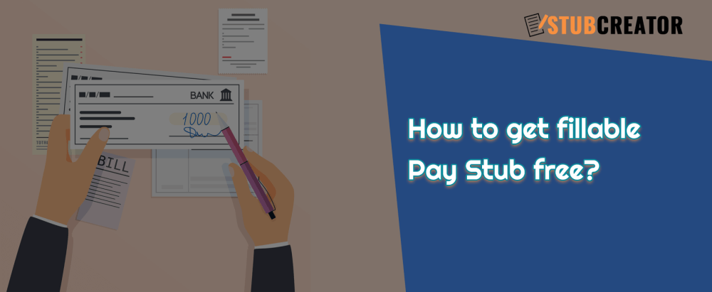medium resolution of how to get fillable pay stub free