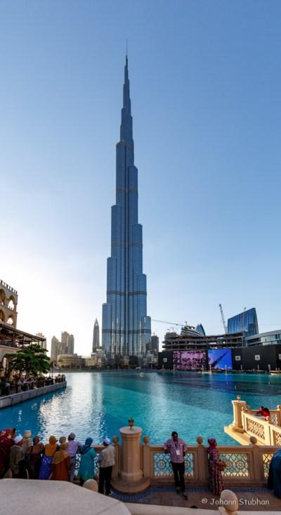 Burj Khalifa in voller Größe