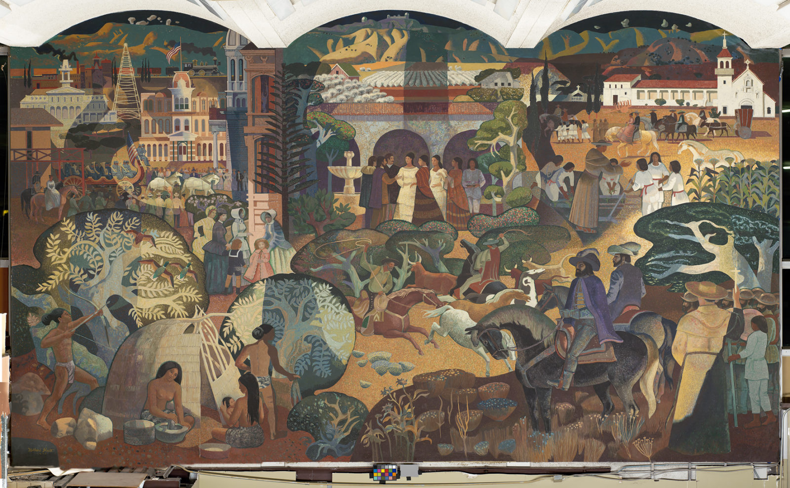 Image result for mural of departure terminal sky harbor Phoenix