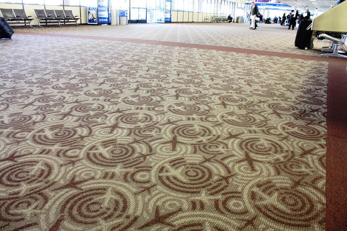 Cool Quirky Airport Carpets Stuck At The Airport