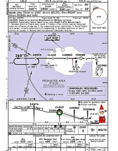 Ba says that the chart shows approach for landing santa   sleigh back at north pole having completed deliveries also flight plan stuck airport rh stuckattheairport