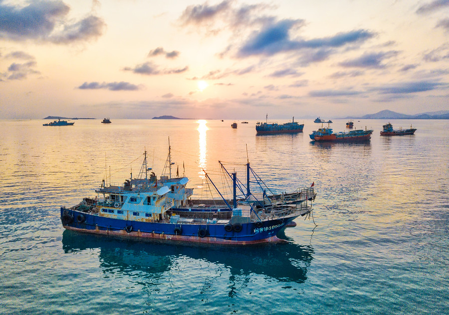 Abandoned Ships in the South China Sea