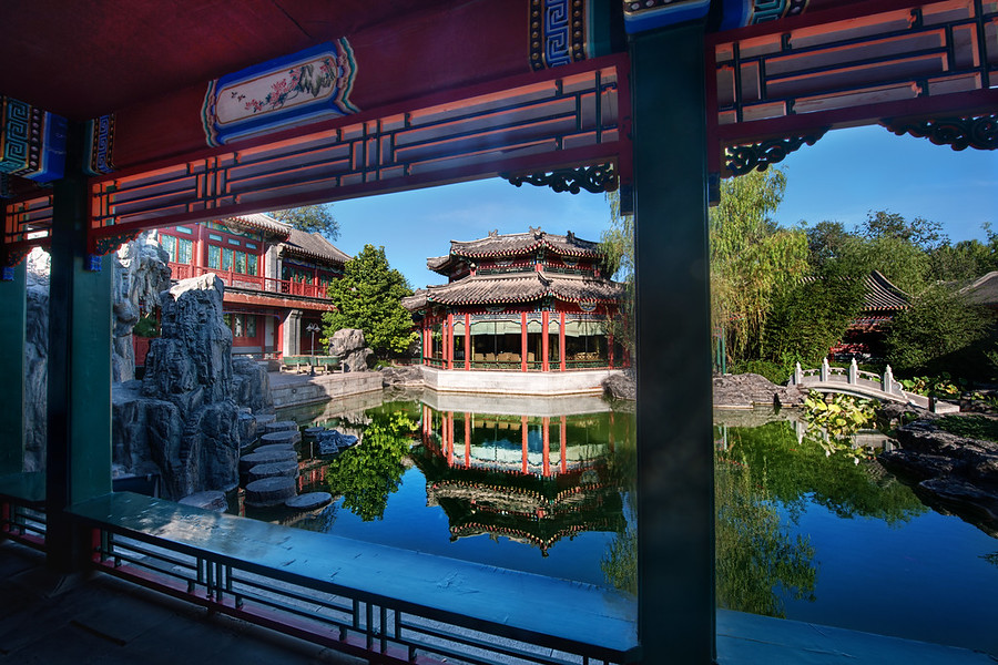Private Gardens in the Forbidden CityOn a recent trip to China, I was invited to a private residence inside the Forbidden City.  I had a two-hour tea service that was pleasant and relaxing.  After this, I was allowed to wander the private gardens and inner cloisters for a while.  I took as many photos as I could, and here is one of them.- Trey RatcliffClick here to read the entire post (and see a video of me on TV in China!) at the Stuck in Customs blog.