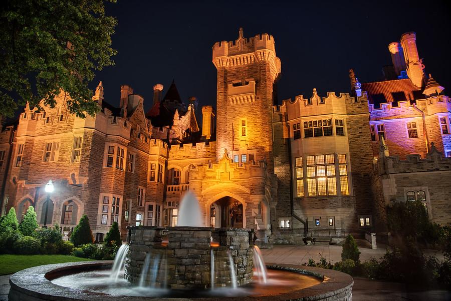 A Castle in Toronto! Casa Loma