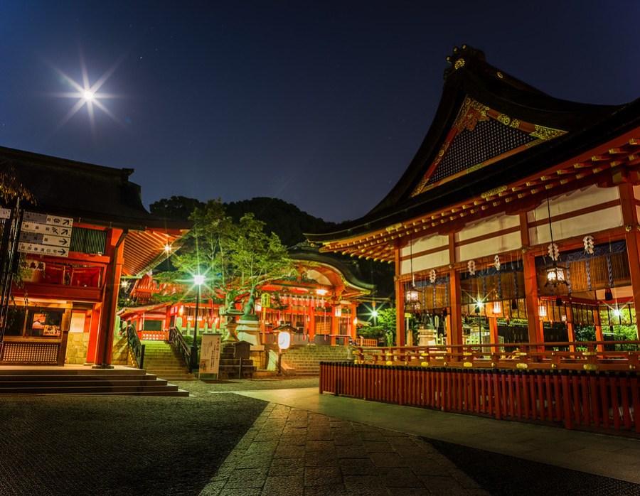 Midnight in Kyoto