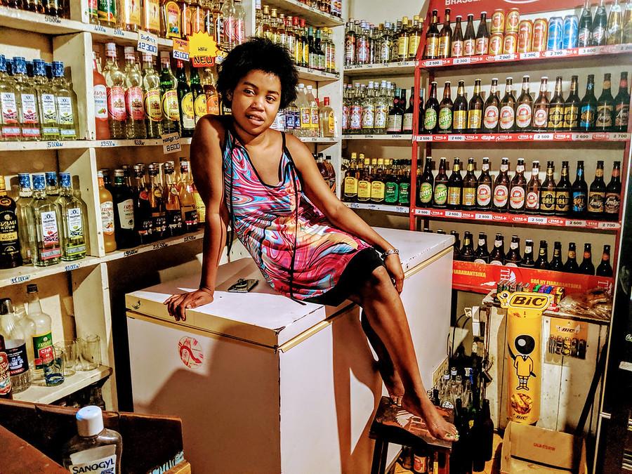 Pretty Girl at the Kwik-E-Mart in Madagascar