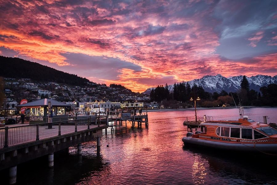 Queenstown Harbor in the Morning