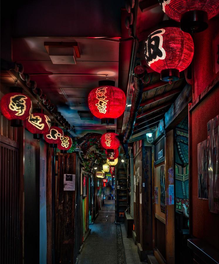 Secret Food Alley in Tokyo – Stuck in Customs