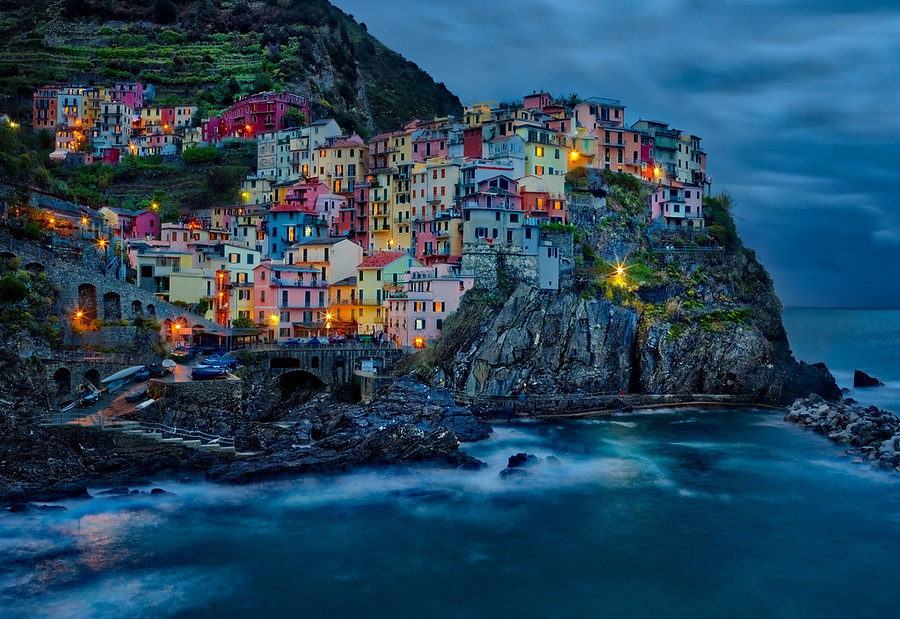 This is beautiful Cinque Terre in Italy. I took this while it was raining outside, and the X1D held up fine to these weather conditions.