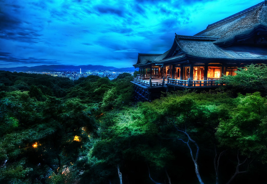 The Temple Protects Kyoto
