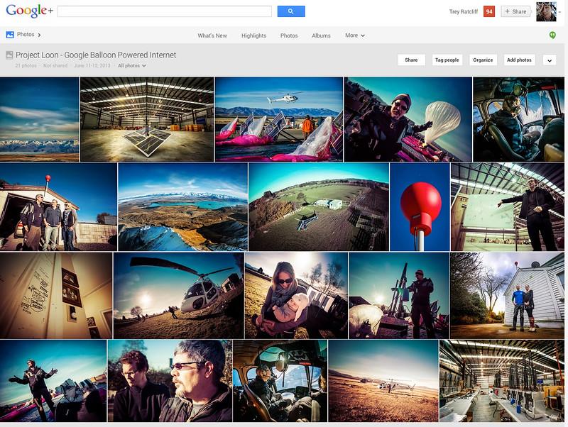 Google Internet Balloons