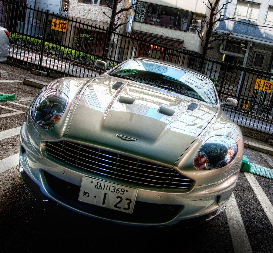 """Awesome Car in TokyoTokyo has a bunch of cool cars all over the place.  And look at that license plate!  How do you get that number?  Maybe you have to part of the Japanese mafia or something...I took this photo a long time ago but only recently processed it.  In fact, I took it while we were doing the Tokyo workshop.  Remember that thing?  I only dedicate about 10-15% of my year to """"teaching"""" stuff, since I am so busy with other things.  This year I'm working on a bunch of different things to help this scale, however, since it is hard to be everywhere physically at the same time.- Trey RatcliffRead the rest of this entry at the Stuck in Customs blog."""