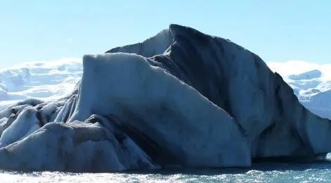 Massive iceberg. As you all should know, most of it is below the waterline.
