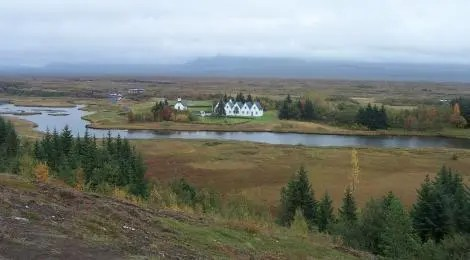 Thingvellir was selected for its central location, its fields and easy access to water