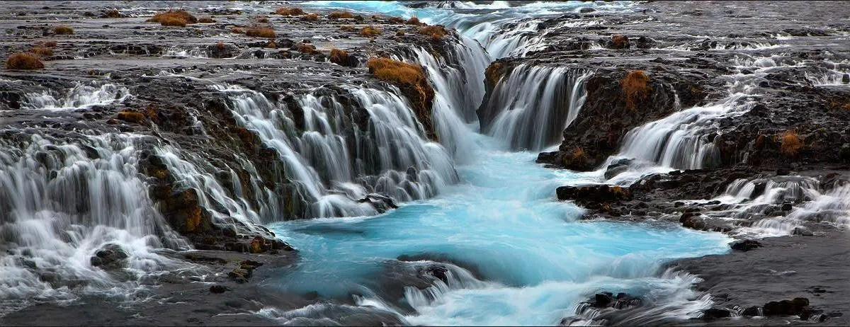Iceland Waterfall Perfect for all Seasons – See the Great Brúarfoss