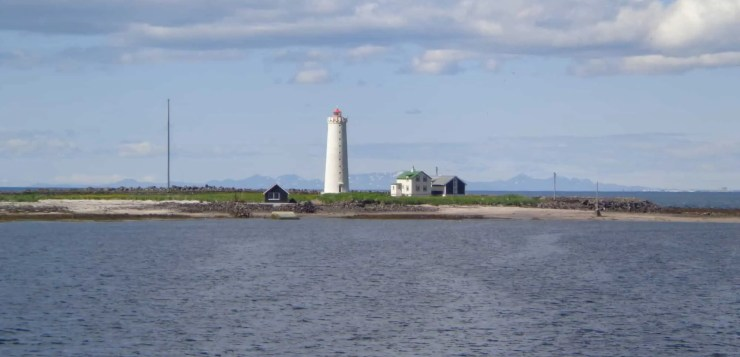 The lighthouse at Grotta. This area is the place for a perfect Reykjavik walk.