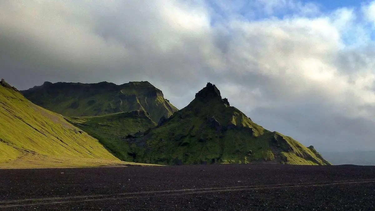 See the Icelandic Lunar Landscape at the Lonely Mountain of Hafursey