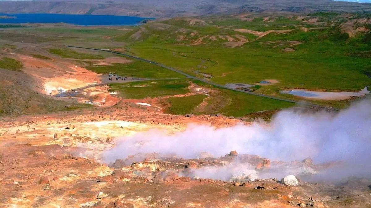 The Geothermal Area Of Krýsuvík is an Icelandic Jewel