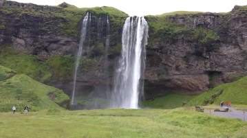Medium quality picture of Seljalandfoss waterfall.