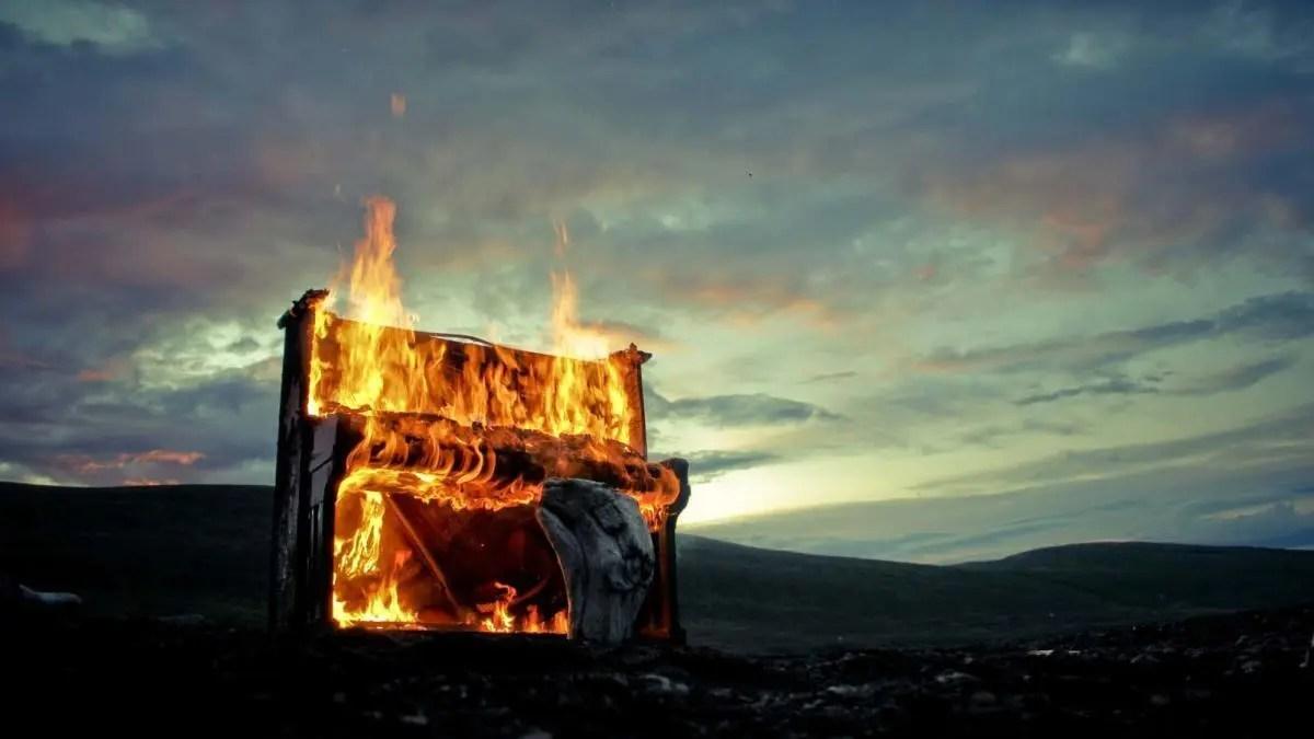 Solstafir Music Video – Behind the Scenes of Lágnætti Music Video