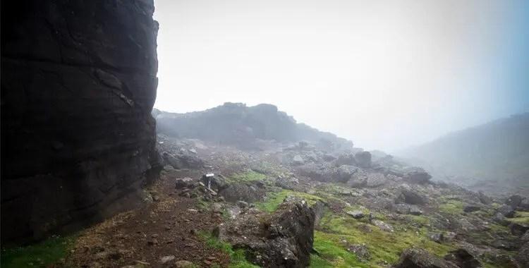 A quiet visit to the Icelandic Singing Cave