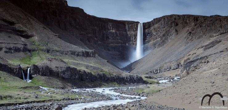 The Spectacular Hengifoss Waterfall.