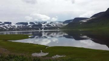 Hiking trips in Iceland: Fljótavík cove in remote Hornstrandir region of the Westfjords.