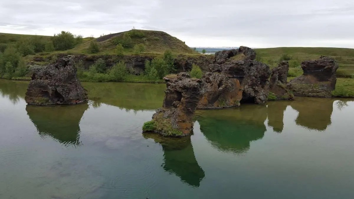 The Hidden Pathway at Lake Myvatn – Find this Haven of Solitude