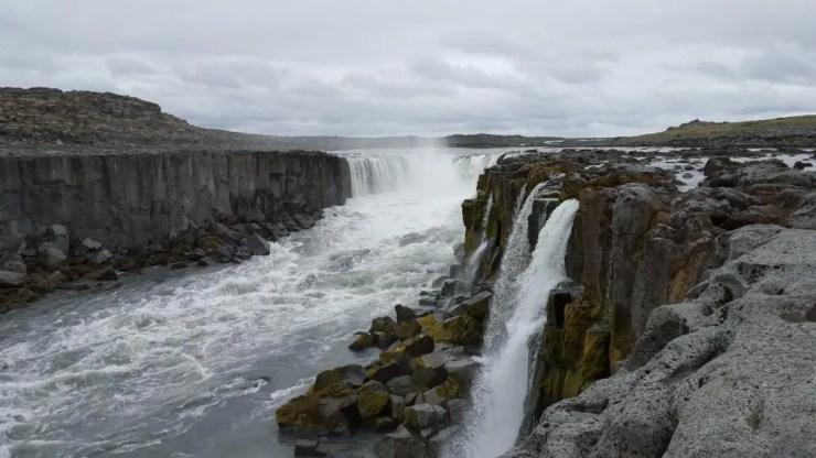 Selfoss waterfall.