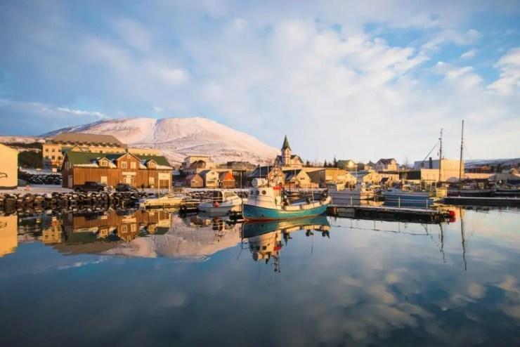 The lovely town of Husavik.