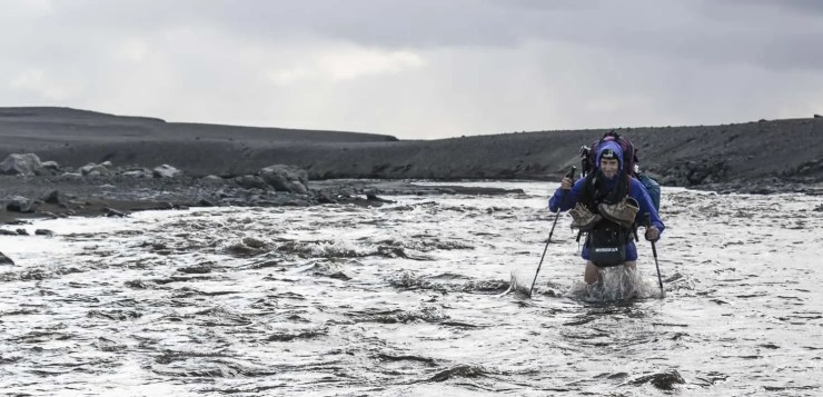 Hiking Highlands of Iceland. No easy day.